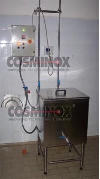 Preparatore acqua calda vapore indiretto